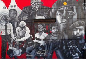 black panthers mural
