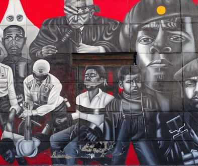 black panthers mural