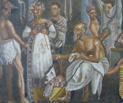 mosaici_da_Pompei_attori