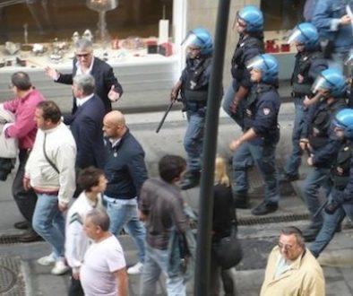 polizia repressione