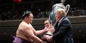 trump sumo grand championship