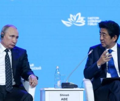 abe putin eastern economic forum
