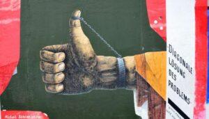 berlin wall diagonale
