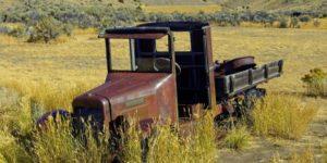 abandoned truck montana