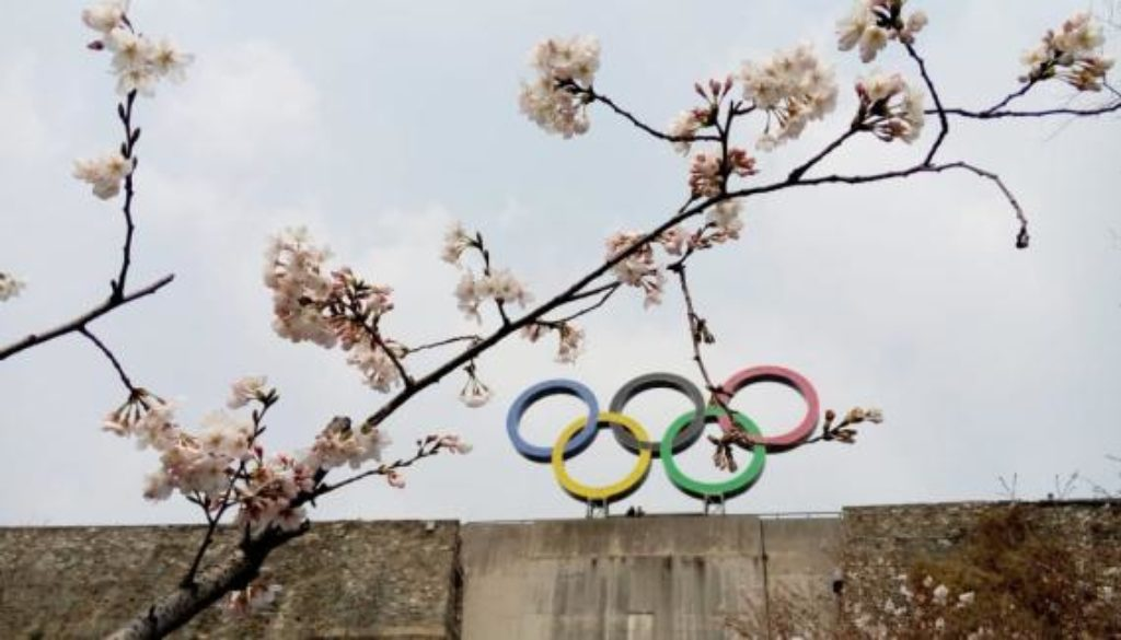 olympic-rings-spring-cherry-blossom