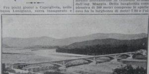 inaugurazione ponte caprigliola corriere