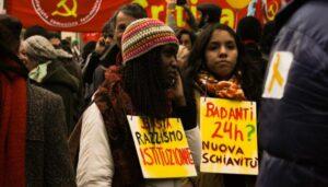 sciopero migranti 1 marzo 2010