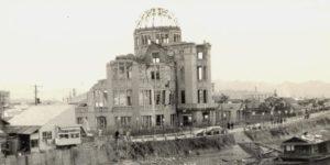 hiroshima dome 1950 circa