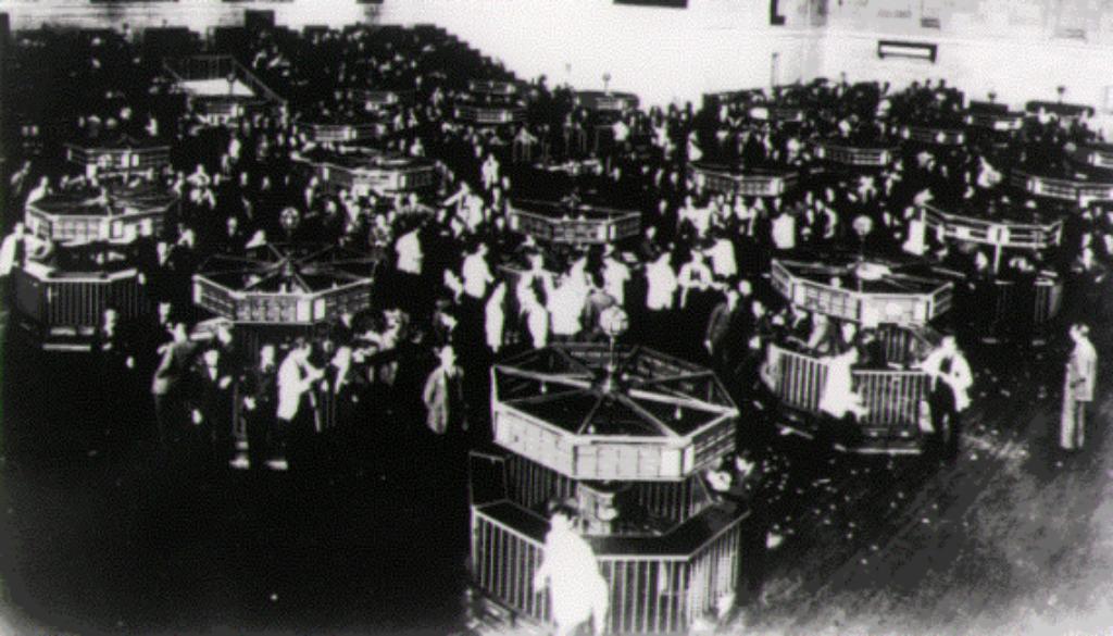 1930-trading floor wall street