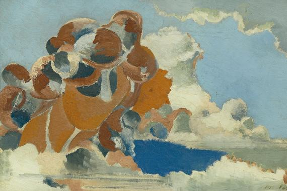 Cumulus_Head_by_Paul_Nash,_1944
