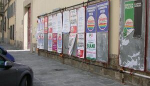manifesti elettorali 2008